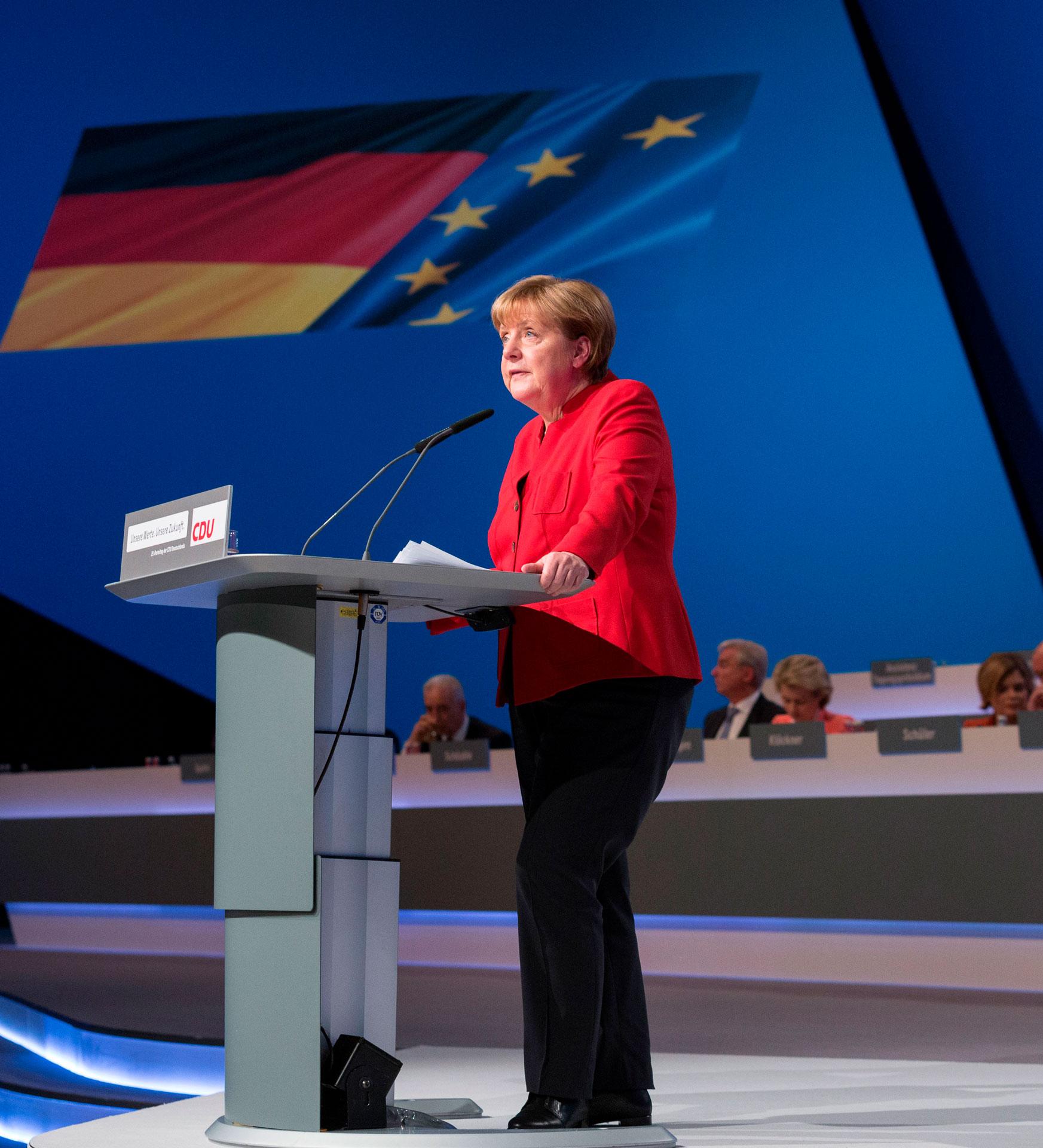 Angela Merkel Rede